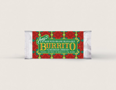 Cheddar Cheese, Bean & Rice Burrito hover image