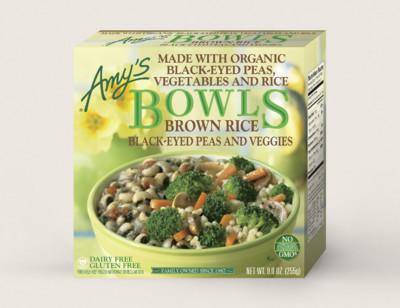 Brown Rice, Black-Eyed Peas & Veggies Bowl standard image