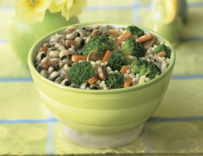 Brown Rice, Black-Eyed Peas & Veggies Bowl hover image