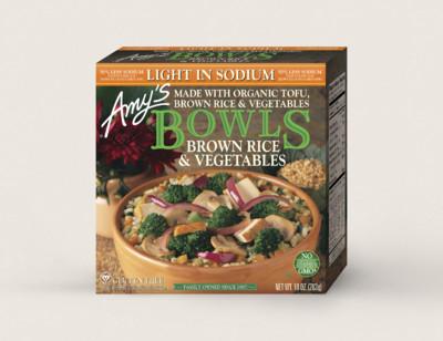 Brown Rice & Vegetables Bowl, Light in Sodium standard image