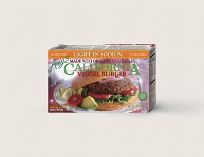 California Veggie Burger, Light in Sodium standard image