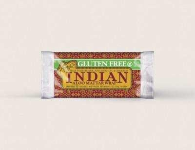 Indian Aloo Mattar Wrap, Gluten free hover image