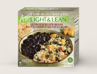 Quinoa & Black Beans with Butternut Squash & Chard - Light & Lean hover image