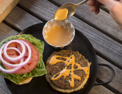 Top Secret Veggie Burger Sauce