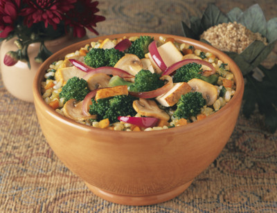 Brown Rice & Vegetables Bowl, Light in Sodium hover image