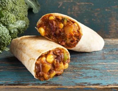 Black Bean Burrito standard image