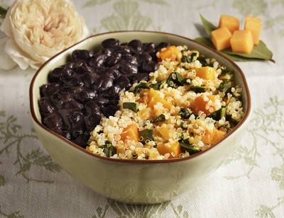 Quinoa & Black Beans with Butternut Squash & Chard - Light & Lean standard image