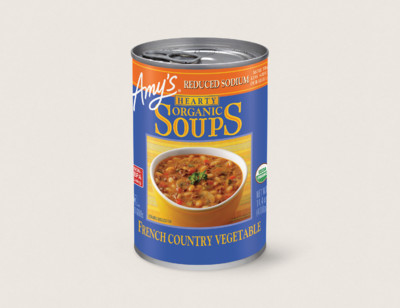 Organic Hearty French Country Vegetable Soup, Reduced Sodium standard image