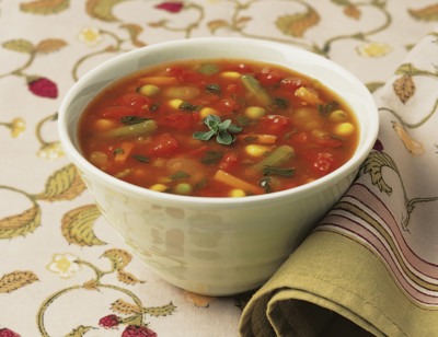 Organic Chunky Vegetable Soup, Reduced Sodium standard image