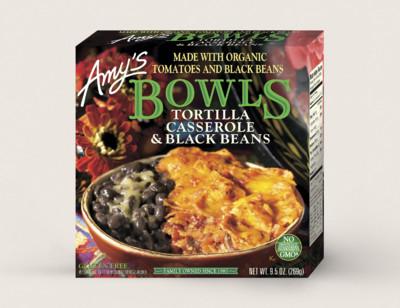 Tortilla Casserole & Black Beans Bowl standard image