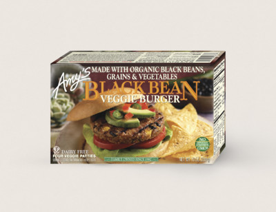 Black Bean Veggie Burger standard image