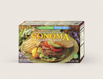 Sonoma Veggie Burger, Gluten Free, Dairy Free hover image