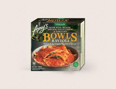 Vegan Spinach Ravioli Bowl hover image