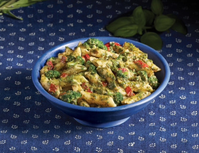 Pesto Penne with Broccoli & Tomatoes - Meals for Two standard image