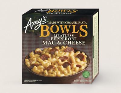 Mac & Cheese Meatless Pepperoni Bowl standard image