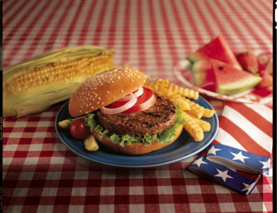 All American Veggie Burger hover image