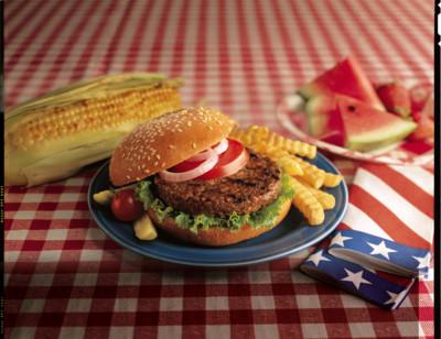 All American Veggie Burger standard image