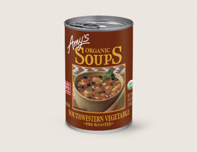 Organic Fire Roasted Southwestern Vegetable Soup hover image