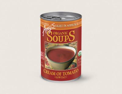 Organic Cream of Tomato Soup, Light in Sodium hover image