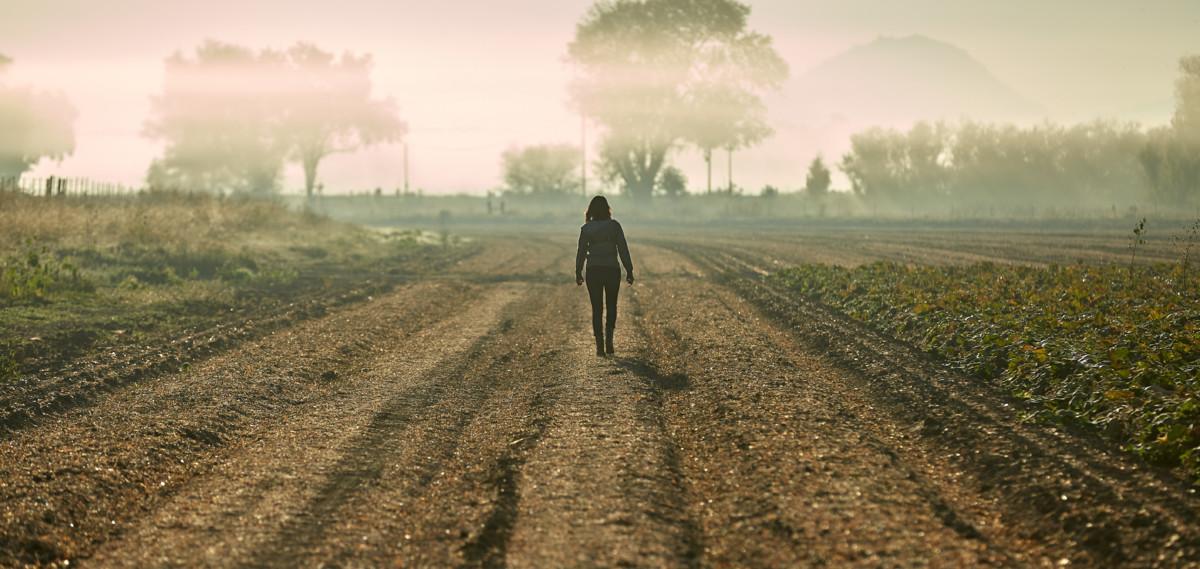 Amy's woman in a field