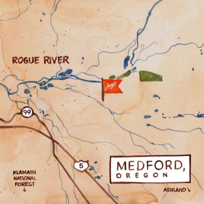 Amy's Medford Map